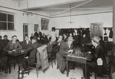Portland Chess Club circa 1914