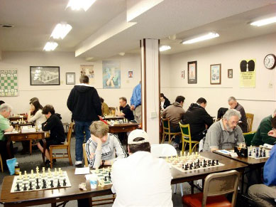 Portland Chess Club today